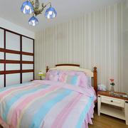 地中海卧室简约背景墙装饰