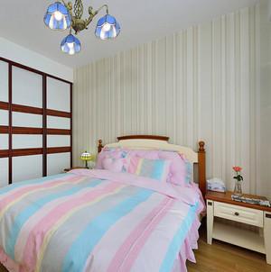 清新地中海风格2居室装修效果图