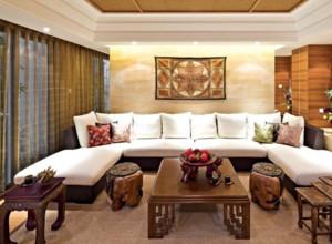 2015全新客厅天然大理石茶几装修效果图