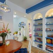 地中海客厅置物架装饰