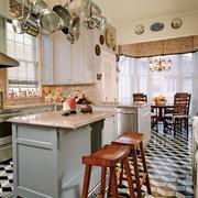 法式风格开放式厨房装饰
