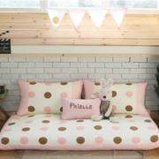 简约甜美的客厅沙发