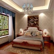 美式时尚的卧室