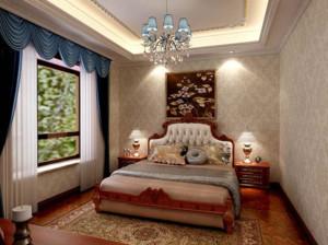 2015巴洛克风格卧室装修效果图