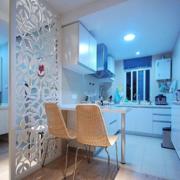 现代简约风格厨房隔断装饰