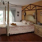 混搭风格的别墅卧室