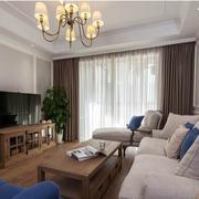 50平米小户型客厅电视柜装饰