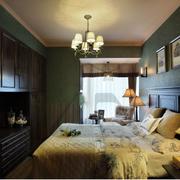 美式简约风格卧室整体衣柜装饰