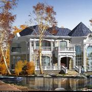城堡式的别墅展示