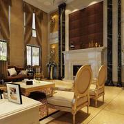 超豪华别墅客厅