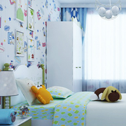 简约风格儿童房衣柜装饰