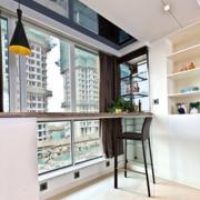 都市风格简约客厅吧台装饰