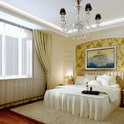 欧式田园风格卧室墙纸装饰
