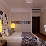 简欧风情的卧室设计