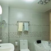 现代化简约风格卫生间瓷砖装饰