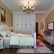 欧式简约卧室背景墙装饰