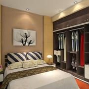 北欧风格卧室衣柜装饰