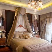 欧式风格卧室公主系布置
