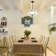 地中海风格餐厅灯饰装饰