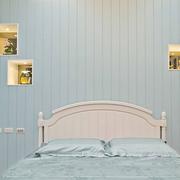 美式床头背景墙装饰