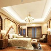 现代美式奢华卧室