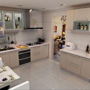 气质优雅的厨房橱柜