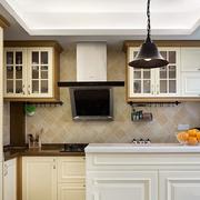 美式风格厨房石膏板吊顶装饰