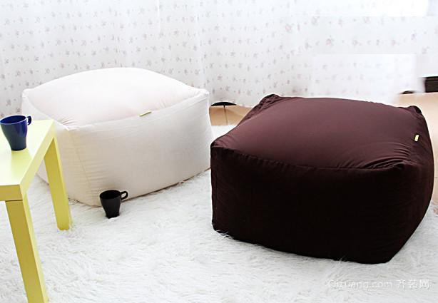 2015个性时尚的客厅懒人沙发装修效果图