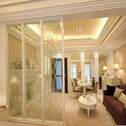 欧式风格简约客厅隔断装饰