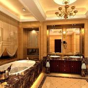 大户型豪华洗手间