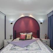 美式简约风格卧房背景墙装饰