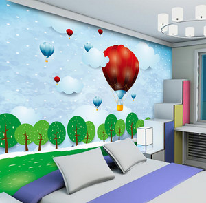 2015单身公寓欧式卧室背景墙装修效果图