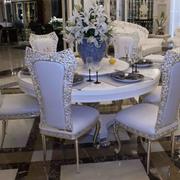 法式浪漫的餐桌欣赏