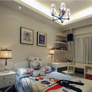现代简约儿童卧室