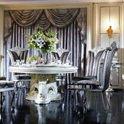 浪漫典雅的餐桌