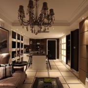 欧式风格洋房客厅装修