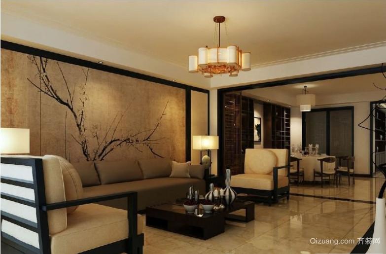 中式小户型家装效果图
