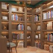 大户型书房转角书柜