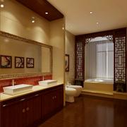 唯美系列浴室装修图片