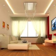 小户型单身公寓客厅