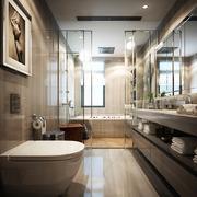 现代公寓卫生间装潢
