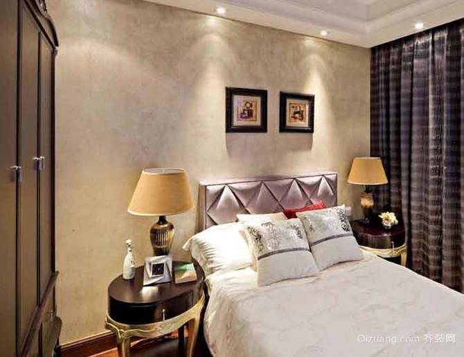 2015欧式古典朴素卧室装修效果图