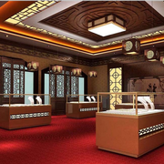 传统型珠宝展柜欣赏