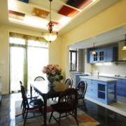 地中海风格开放式厨房