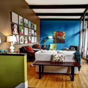时尚风格客厅装修图片