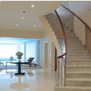 豪华的家居楼梯