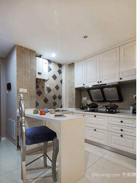 欧式风格厨房设计装修效果图