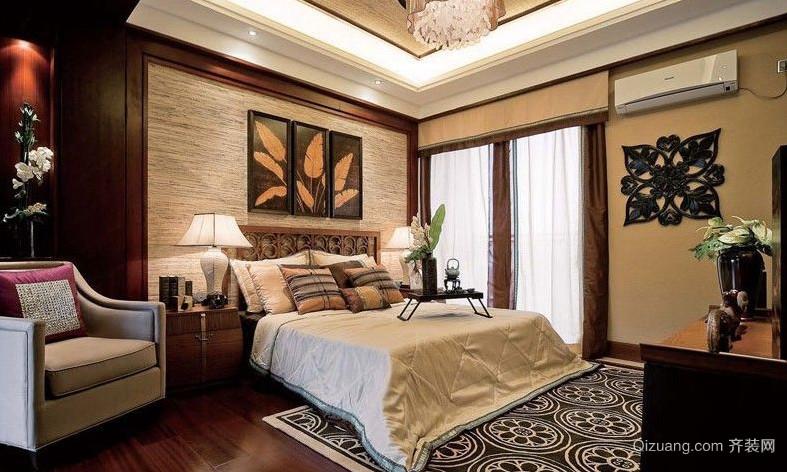 东南亚别墅小卧室装修效果图