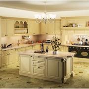 简欧式的厨房橱柜