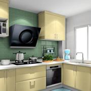 家居开放式厨房展示
